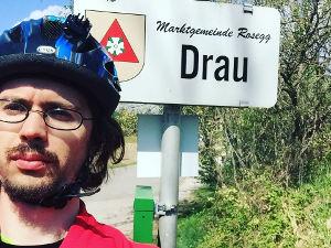 Drau an der Drau - Drauradweg