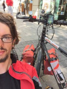 Fahrradtour durch Europa - Zagreb