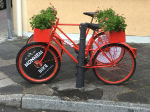 Neckarradweg Mannheim Fahrrad-Jubiläum