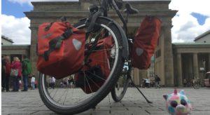 Ortlieb-Fahrradtaschen Brandenburger Tor - Suche nach der optimalen Fahrrad-Satteltasche