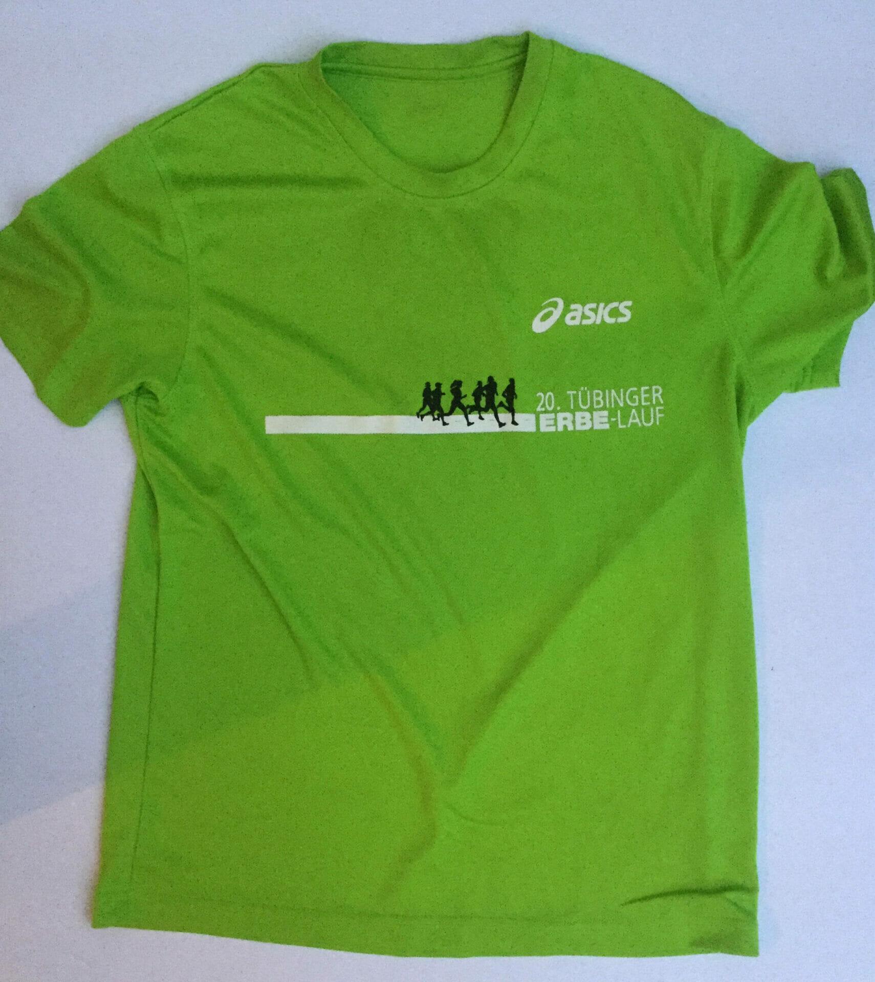 Multifunktions-Shirt, das ich nach dem Stadtlauf in Tübingen bekommen habe.