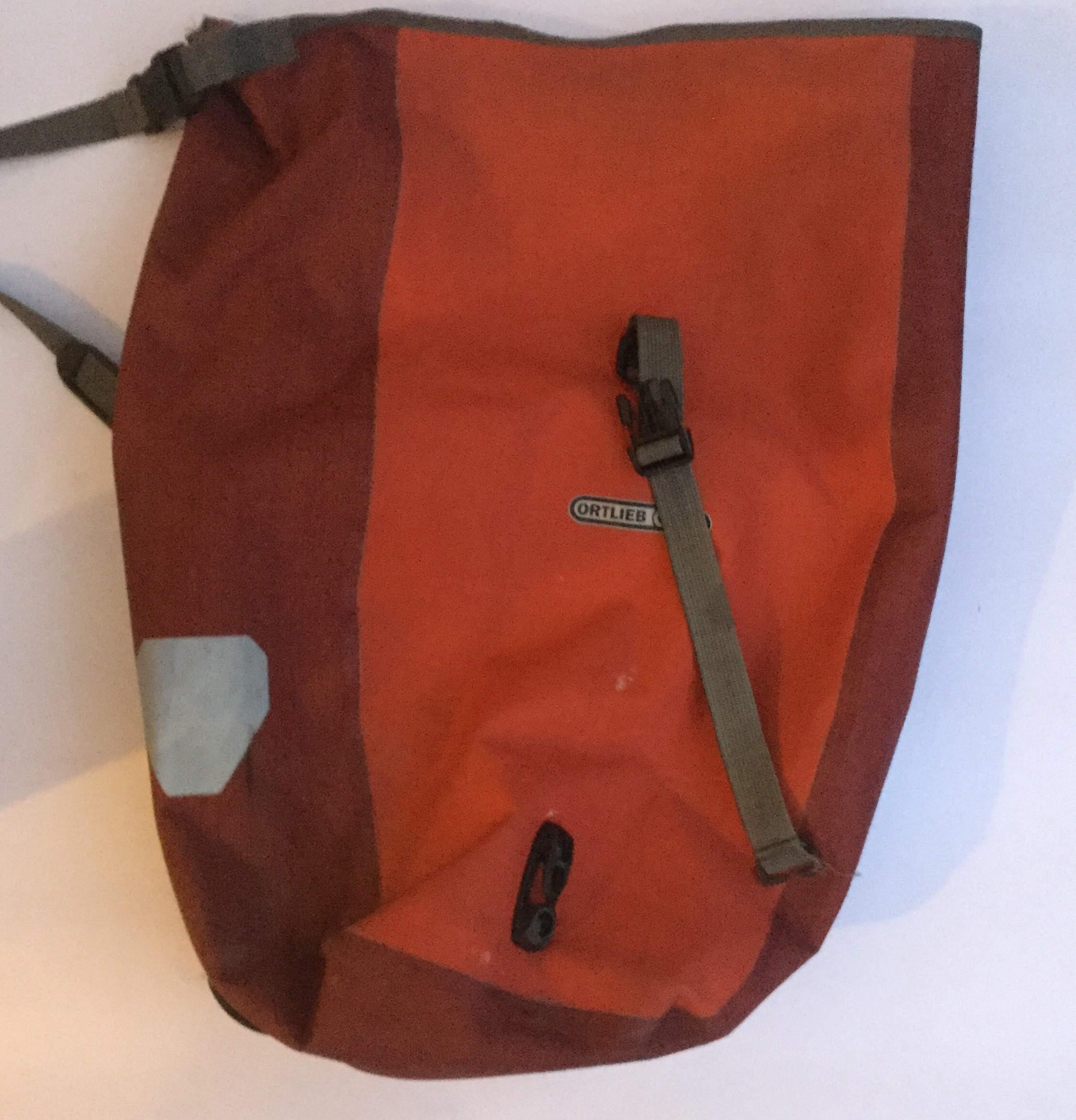 Ortlieb-Tasche - wichtig für meine Fahrradausrüstung