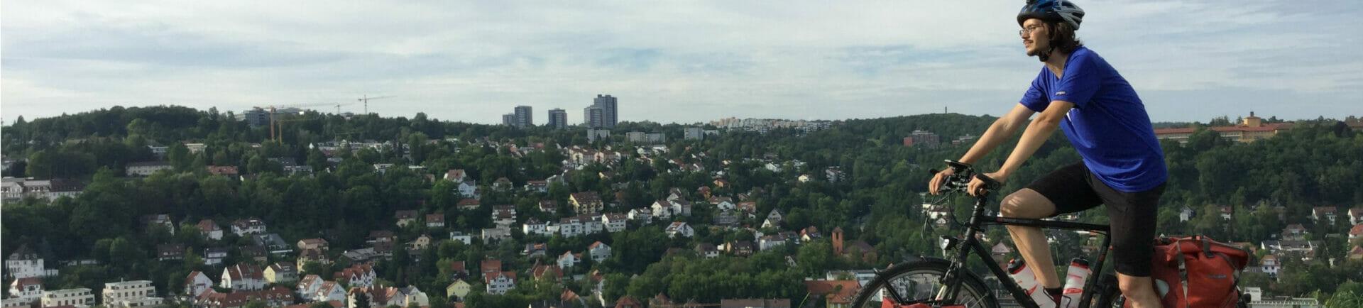 Tübingen - Österberg - Neckarradweg - Unterkünfte in Tübingen