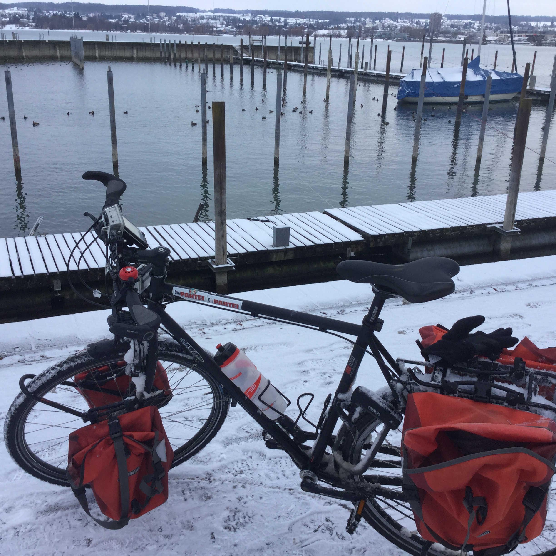 Konstanz Bodenseeradweg Fahrrad