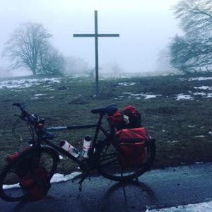 Donstetten Alptäler Radweg Kreuz Nebel