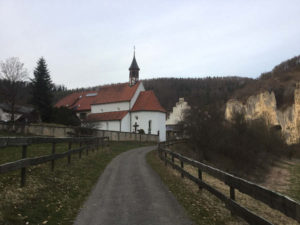 Sicherheit bei Flussradwegen - Donauradweg bei Sigmaringen