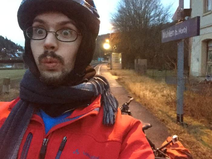Horb-Mühlen Bahnhof - Radtour