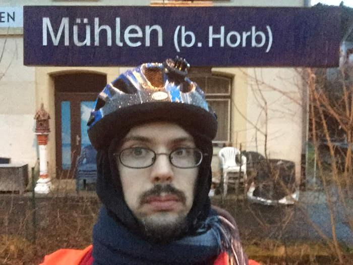 Radtour über Rottenburg nach Horb. Genauer gesagt Horb-Mühlen.