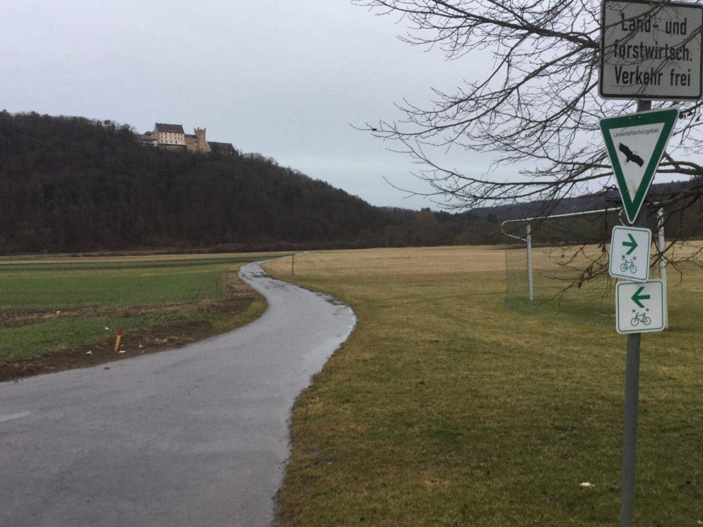Radtour zum Schloss Weitenburg in Starzach