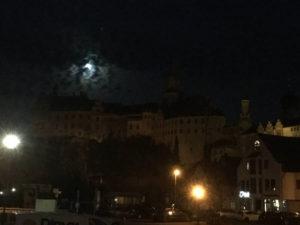 Schloss Sigmaringen Donauradweg von Donaueschingen nach Scheer
