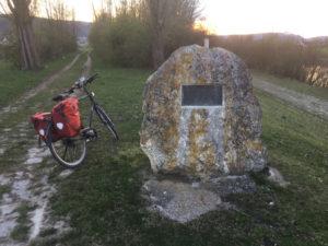 Donau Altmühl Stein Kelheim in Richtung Regensburg - Altmühltalradweg Erfahrungsbericht