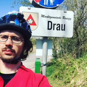 Drau an der Drau - Rosegg - Drauradweg