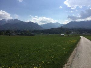 Die Alpen auf dem Drauradweg - Santk Jakob im Rosental
