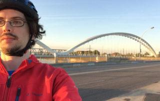 Europabrücke Straßburg Kehl Radtour