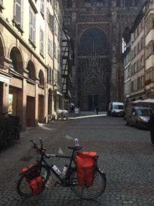 Europatour Fahrrad Straßburg