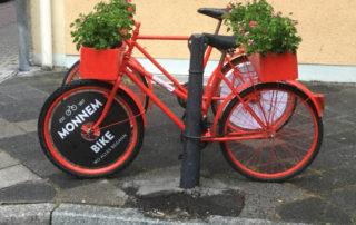 Neckarradweg Mannheim Monnem Wo alles mit dem Fahrrad begann