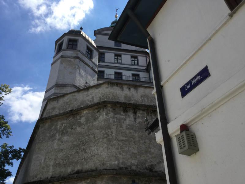 Neuburg an der Donau - Zur Hölle - Schloss