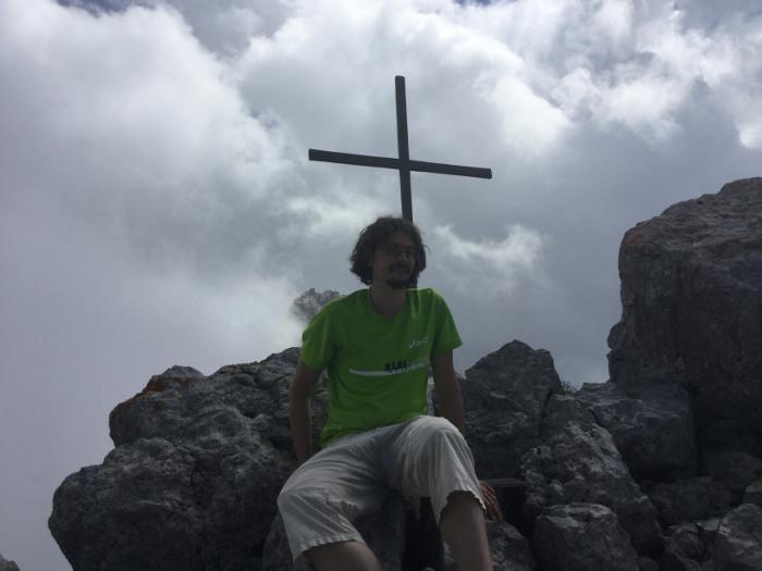 Auf dem Watzmann nähe Berchtesgaden auf dem Hocheck (Wandern)