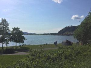 Hopfensee - Hopfen am See nach Füssen - Königssee-Bodensee-Radweg