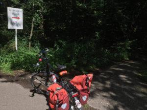 Siebenmühlental-Radweg Seebrücken Mühle - Zum CSD in Stuttgart mit dem Fahrrad