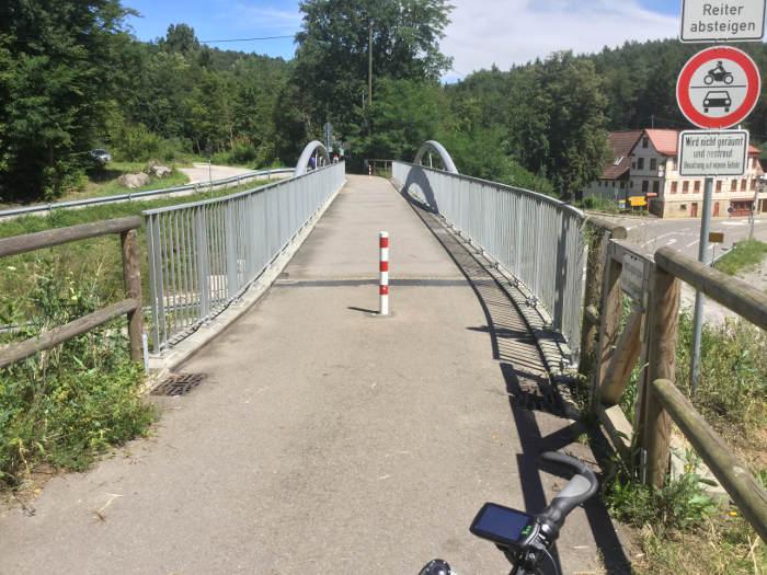 Siebenmühlentalradweg - Beginn Waldenbuch