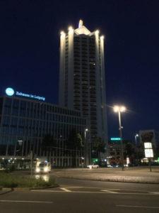 "Leipzig Turm ""Zuhause in Leipzig"" Nähe Hauptbahnhof Leipzig"