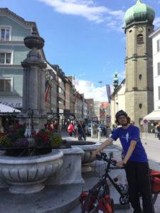 Bregenz - Mein Ziel am Bodenseeradweg - Bodensee umradeln