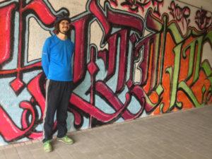 Esslingen Graffiti Neckarradweg