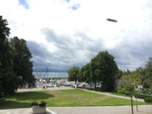 Friedrichshafen - mit Zeppelin - Radtour