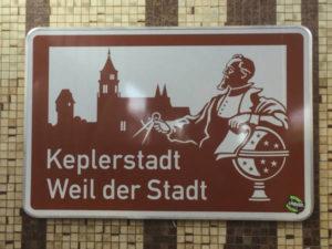 Johannes Kepler Weil der Stadt Bahnhof Museumsradweg