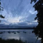 Morgendämmerung in Konstanz-Staad Erfahrungsbericht Bodenseeradweg