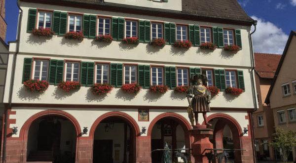 Weil der Stadt - Rathaus - Museumsradweg