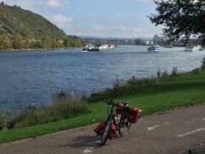 Rheinradweg Andernach