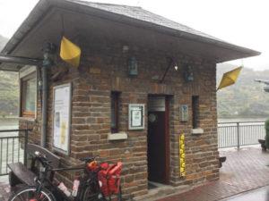 Wahrschauer und Lotsenmuseum am Rheinradweg in St. Goar.