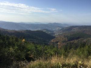 Schwarzmiss Aussicht Kaltenbronn Gernsbach Nordschwarzwald Radtour