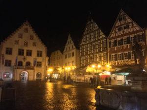 Bad Mergentheim Altstadt Brunnen Taubertalradweg