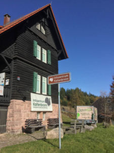 Infozentrum Kaltenbronn - Gernsbach - Nordschwarzwald Radweg