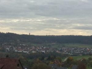 Pfrondorf - Nagold - Berg - Aussicht - Nordschwarzwald Radweg