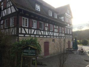 Mäulesmühle - Silvestertour durchs Siebenmühlental
