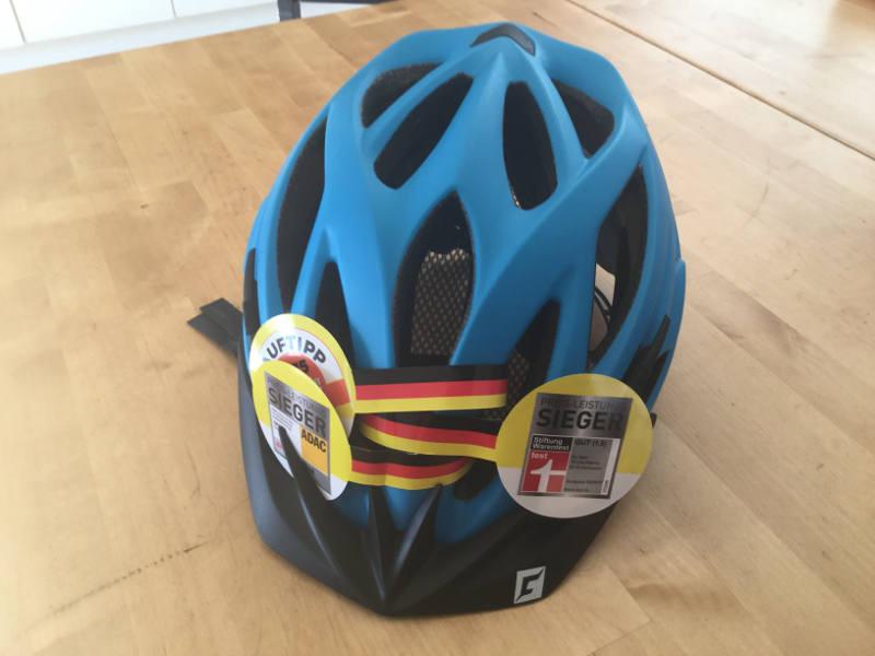 Fahrradhelm tragen - der Cratoni Pacer 2