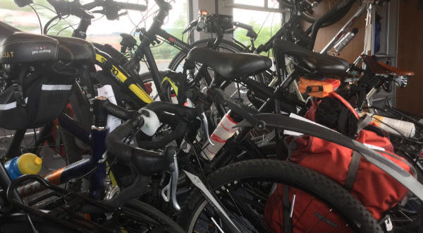 Fahrradmitnahme Bahn im Sommer