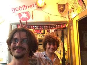 Ulm - Donauradweg - Markus Vogt und Philipp Zey