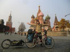 Moskau - Philipp Zey - Fahrradweltreise