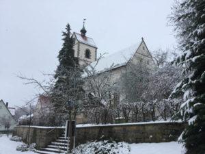 Kusterdingen Mähringen Stephanskirche - Radtour