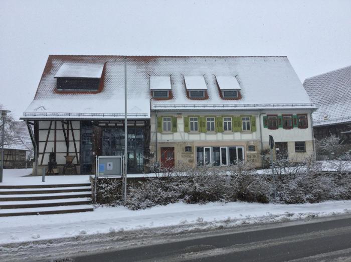 Kusterdingen altes Rathaus - Radtour