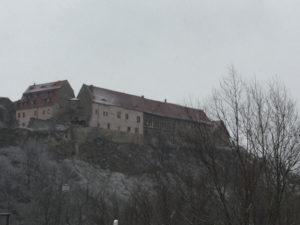 Burg Burgruine Wendelstein bei Membleben (Kaiserpfalz) Sachsen-Anhalt Unstrutradweg