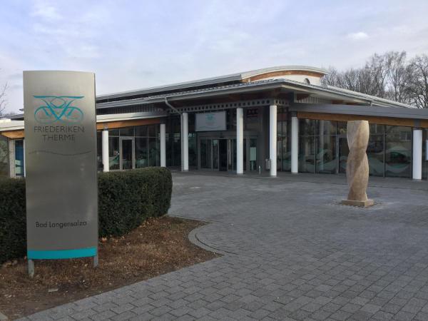 Friederiken Therme Bad Langensalza am Unstrut-Radweg