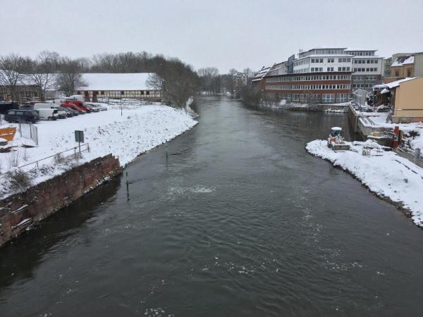 Halle Saale Saaleradweg