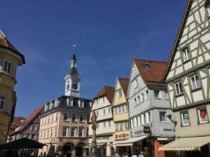Altstadt Aalen - Radtour - Kocher-Jagst-Radweg