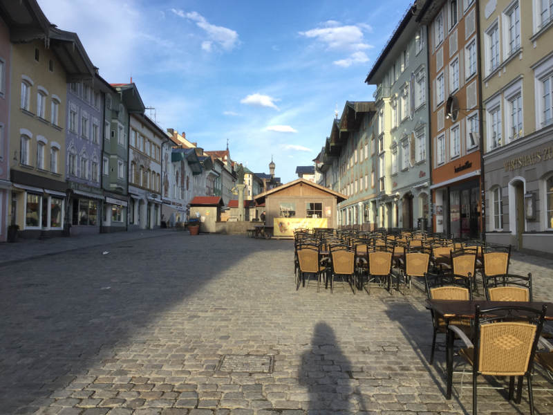 Bad Tölz Altstadt an der Isar